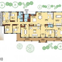 Vista-Mk1-(410)-Donvale-Display-Home-Colored-Floor-Plan