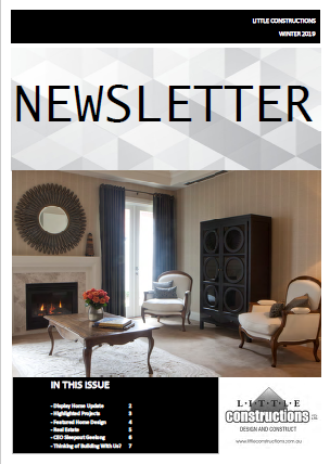 Little Constructions Winter Newsletter 2019